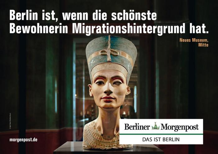 Berlino è, quando l'abitante più affascinante ha un background da immigrante.