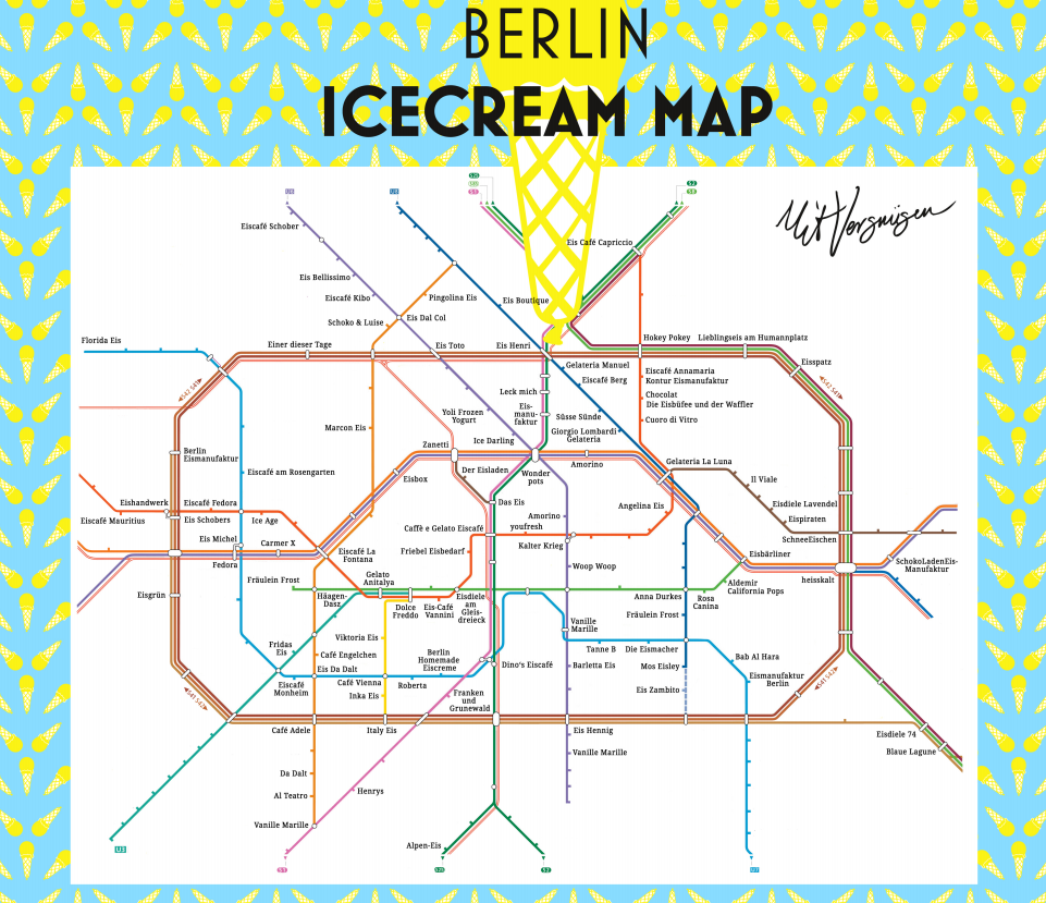 Berlin Icecream Map