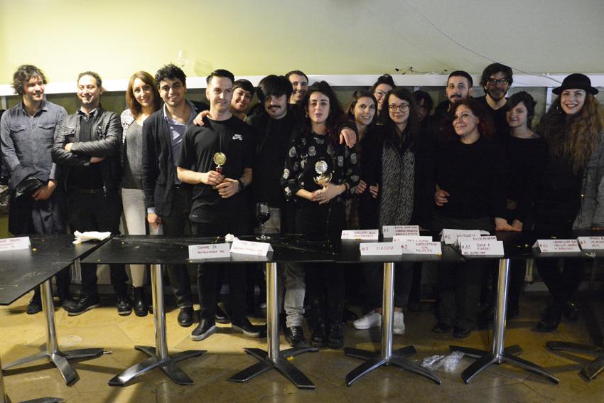 I vincitori e lo staff di Berlino Magazine.