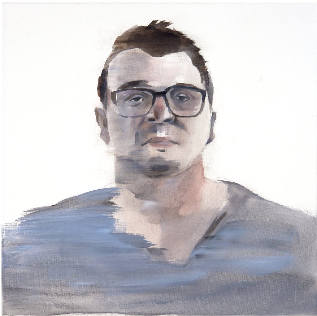 Benjamin 34, 50 x 50 cm, acrylic on canvas