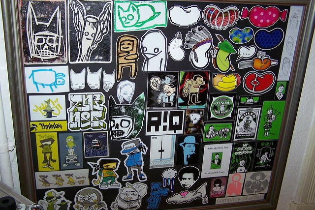 Hatch Sticker Museum