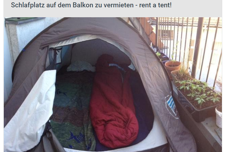 tenda screenshot wggesucht - wggesucht tenda annuncio