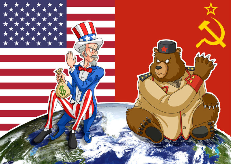 cold war usa russia