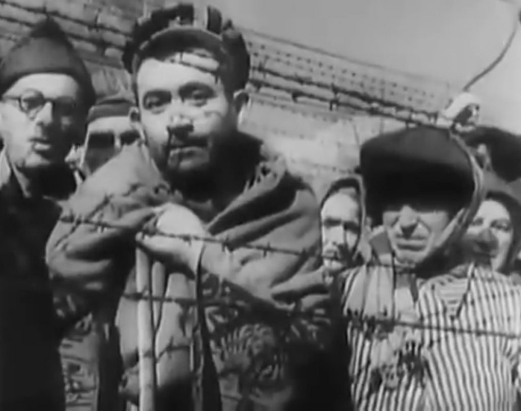 Immagine tratta da Youtube: Memory of the Camps (1985) Alfred Hitchcock