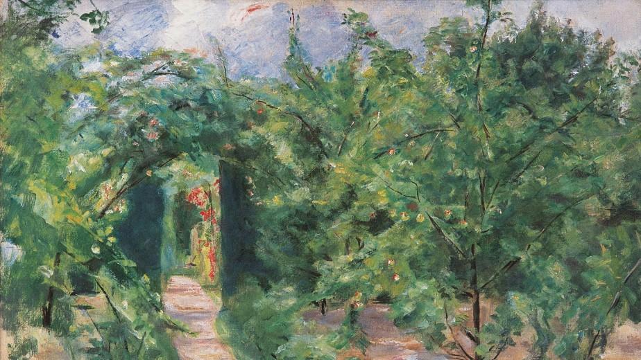 Max Liebermann, Laubengang zum Heckengarten, 1920 © Privatsammlung
