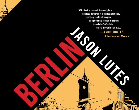 ©Drawn and Quarterly, Berlin cover