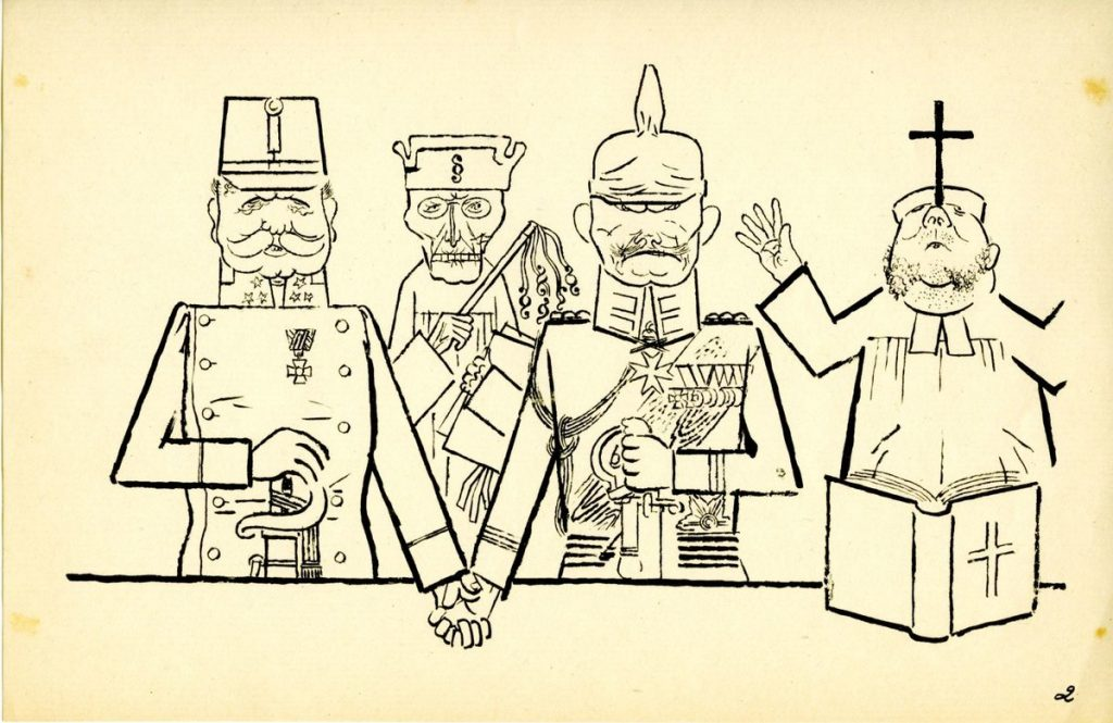 hintergrund Grosz ©Estate of George Grosz