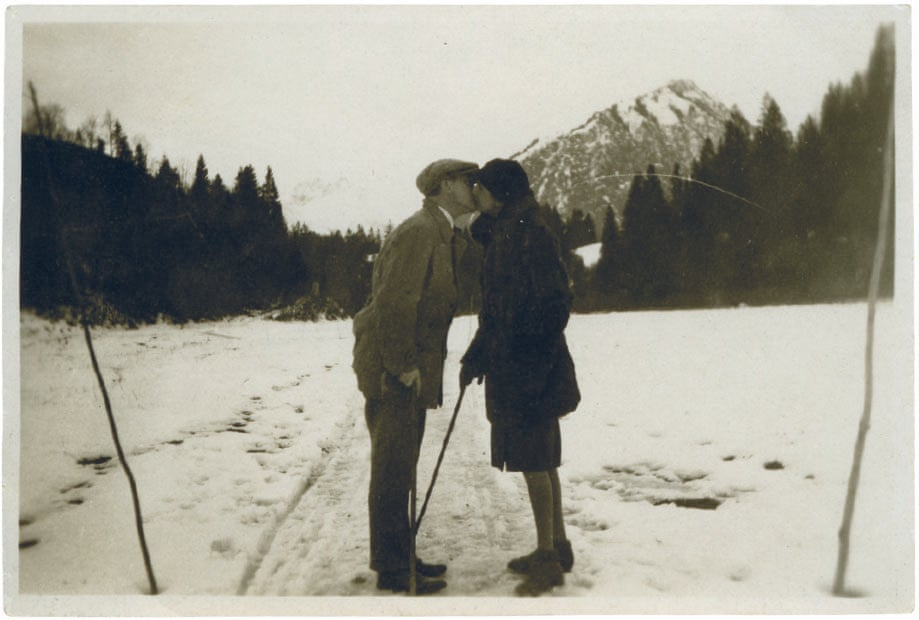 Photographer unknown, Josef and Anni Albers, Oberstdorf, Germany, 1927-8 Courtesy the Josef and Anni Albers Foundation. Photograph: Courtesy the Josef and Anni Albers Foundation