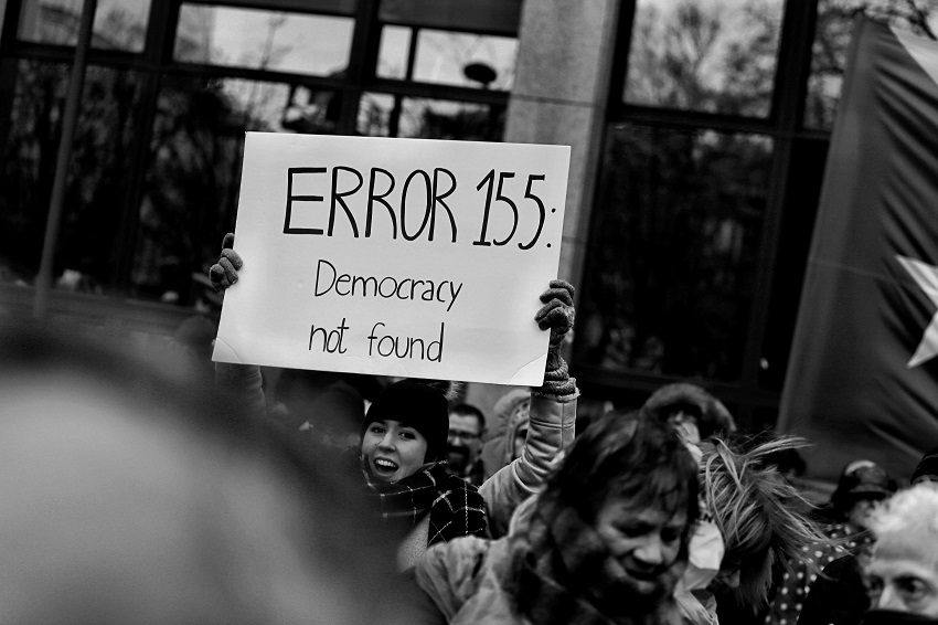 Democracy, on Unsplash, CC0 https://unsplash.com/photos/TW3dFH_4nEk