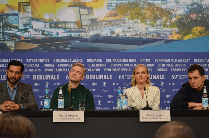 "© Maria Assunta Vitale – Conferenza stampa del film ""The Operative"""