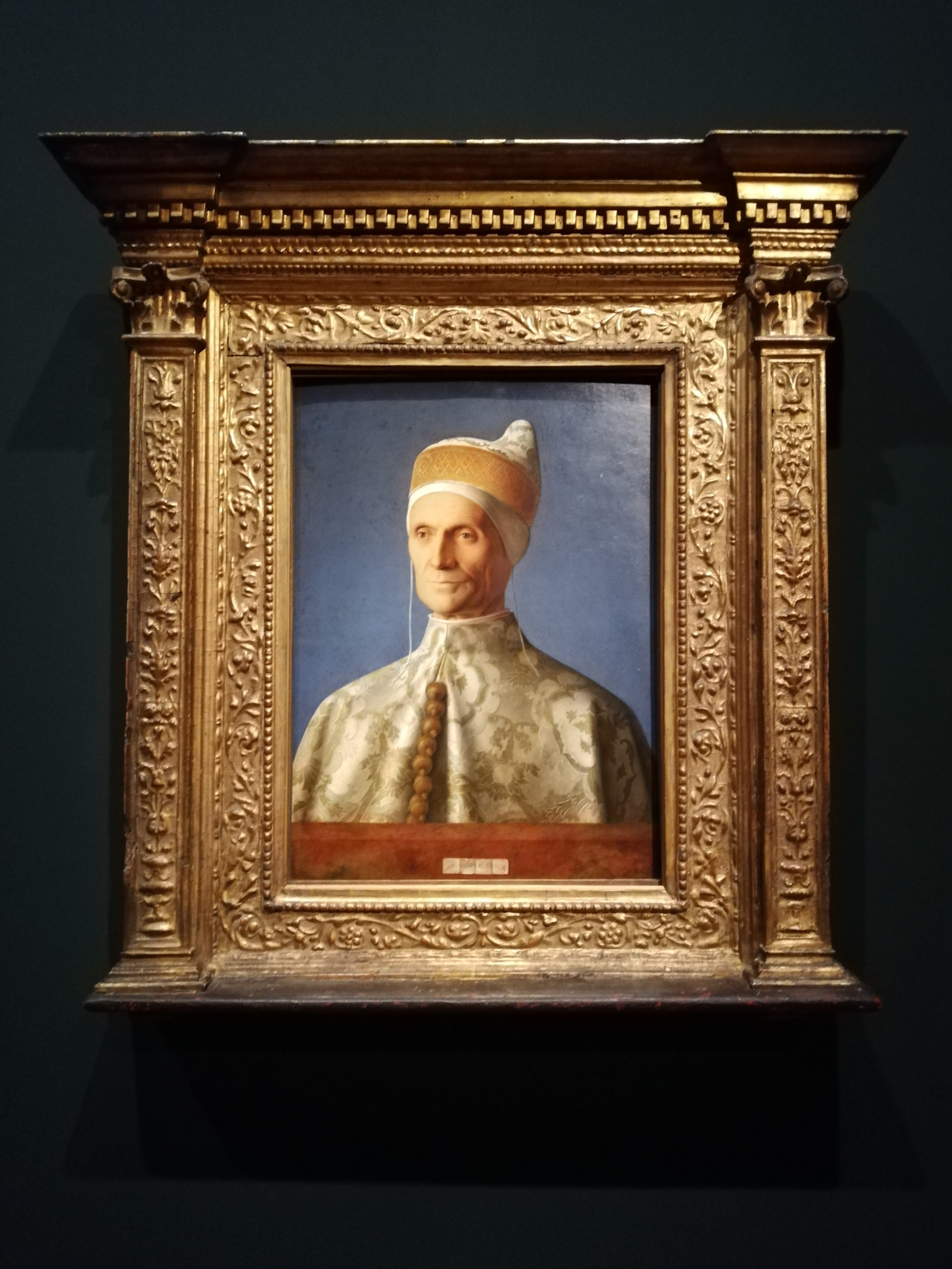 Giovanni Bellini, Il Doge Leonardo Loredan, 1501/02, National Gallery London
