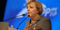 Merkel, European People's Party, https://it.wikipedia.org/wiki/Angela_Merkel#/media/File:Flickr_-_europeanpeoplesparty_-_EPP_Congress_Rome_2006_(132).jpg, CC BT 2.0