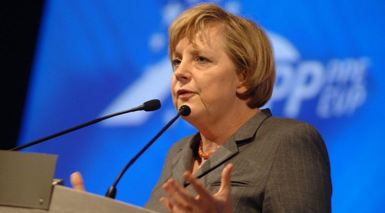 Angela Merkel, https://commons.wikimedia.org/wiki/File:Flickr_-_europeanpeoplesparty_-_EPP_Congress_Rome_2006_(132).jpg, European People's Party, CC BY-SA 2.0