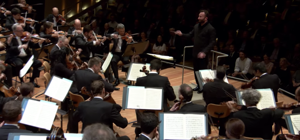 Berliner Philharmoniker - Youtube Screenshot