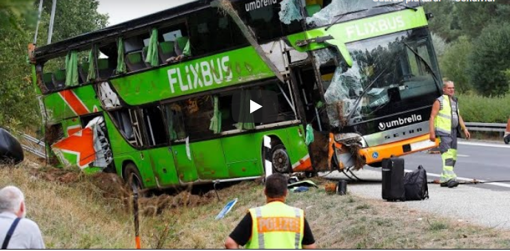 Incidente flixbus screenshot da YouTube https://www.youtube.com/watch?v=ZU7ds4eOyr4