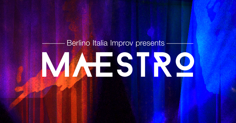 MAESTRO, screenshot da pagina Facebook, https://www.facebook.com/berlino.italia.improv/