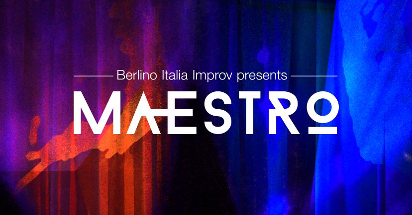 MAESTRO, screenshot da pagina Facebook, https://www.facebook.com/berlino.italia.improv/
