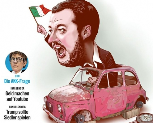 Salvini, screenshot dalla pagina Facebook