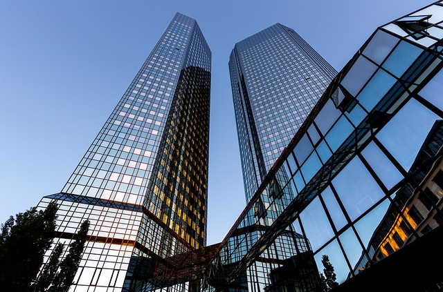 Deutsche Bank, Carsten Frenzl,https://www.flickr.com/photos/cfaobam/9113407007/in/photolist-eTjAp2-ozmHGB-mF3uLy-3B39jm-23Wjp8B-JwSZfy-9MXaHr-NhyVF-dgk4Kd-m4UCeM-8eSv5p-8W3tfa-NhuML-9fFFfy-agfkro-NhtcN-8ytWQc-7rdLsw-9Ct1Gg-244XtWA-7juLZc-p5UDgE-8yoW1Z-8yBFii-5fsJDD-ovzazS-mS4fv-eTjy98-eqWCbx-5xq686-7rWGBo-eqWDmB-dgk5HY-og7usG-35a49i-8z1uTQ-6qiDJG-eB2PxS-8yXkLg-8yp3hR-5AhC98-dgk1NE-9MdjZe-9MdjQi-9Mdki8-3RmCcT-ddtpES-8z1ttw-eByBgg-ag8W96/, CC 2.0,