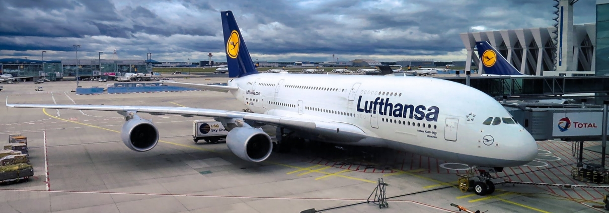 Lufthansa da Pixabay https://pixabay.com/it/photos/airbus-a380-aviazione-2132610/