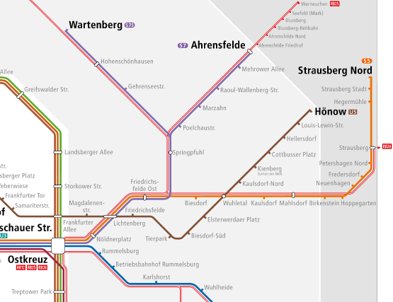 S-bahn lavori screenshot https://sbahn.berlin/en/route-map/