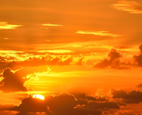 clima,https://pixabay.com/it/photos/vibrante-colore-sunrise-orange-1617470/, paulbr 75,https://pixabay.com/it/users/paulbr75-2938186/, pixabay