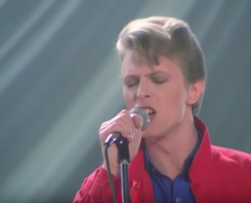 David Bowie, youtube https://www.youtube.com/watch?v=QymJI00mlSs