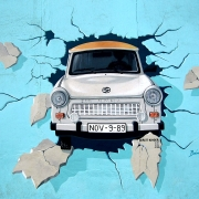 Trabant, ©https://pixabay.com/it/photos/graffiti-muro-di-berlino-wall-trabi-745071/