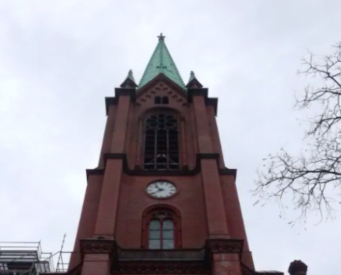Gethsemanekirche, https://www.youtube.com/watch?v=wSMNmnCbtkw&t=182s
