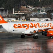 Airbus A319 Easyjet Airline Airliner Innsbruck