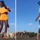 Oumi Janta FULL VIDEO! Roller Skater, Patineuse-Danseuse, La Patinadora, German Roller-Skating https://www.youtube.com/watch?v=FmUDM1FJcmI