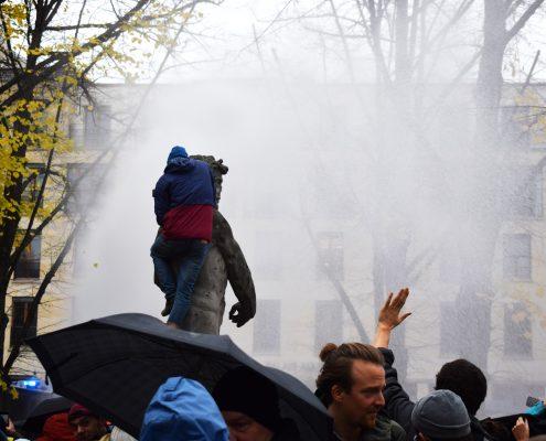 Protesta negazionisti Berlino ©Beatrice Massimi
