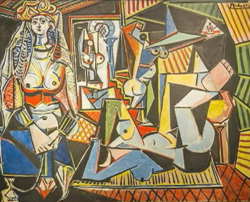 Picasso- screenshot via YouTube https://www.youtube.com/watch?v=TCsr-3P1AFs