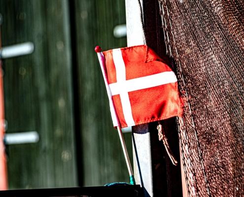 Bandiera danese, di Palle Knudsen da Pixabay
